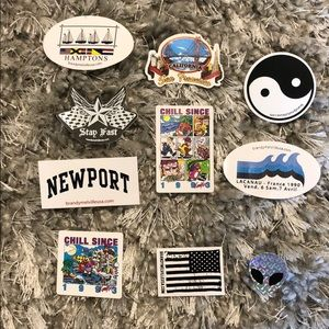 Brandy Melville | Assorted Stickers - 10 in Bundle